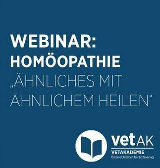 Webinar Homöopathie Vetak